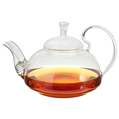 Yongse Heat Resistant Elegant Glas Theepot Infuser Bloem/Groene Theepot 750ml Grootte Koffie Pot Bar Accessoire