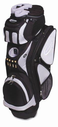 Burton Golf Cruzer Trolley-/Cart-Bag, Silber/schwarz