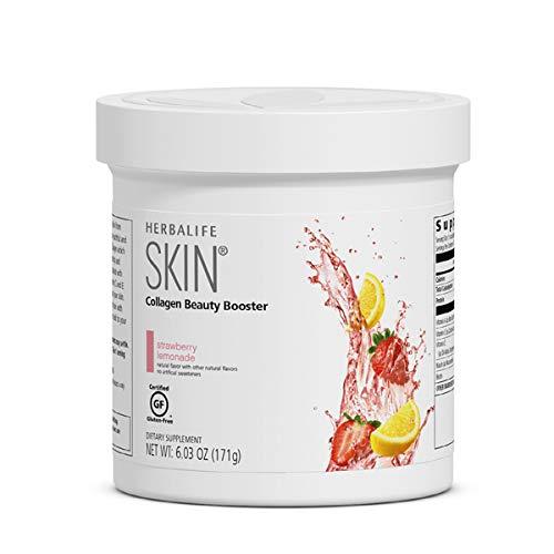Collagen Beauty Booster Lemonade Strawberry 6.03 Oz Support Skin Elasticity