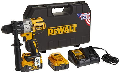 DEWALT 20V MAX XR Hammer Drill Kit, Brushless