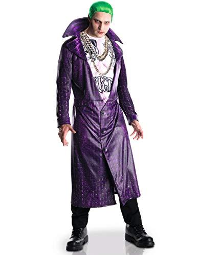 KULTFAKTOR GmbH Suicide Squad Joker-Kostüm Lizenzware lila M / L