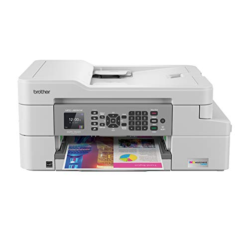 Brother MFC-J805DW INKvestmentTank Color Inkjet All-in-One Printer