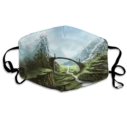 Elder Scrolls Fantasy Action Rpg Skyrim Vechten Warrior Unisex Volledige dekking Buis Gezicht Masker Bandanas UV Bescherming Hals Gaiter Hoofdband