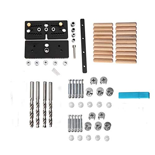 DIY & Tools Doweling Jig Plus Joint Drill Guide Master Kit Woodworking Tool Accessories Woodworking Tools Drill Bit Sets Hand Tools