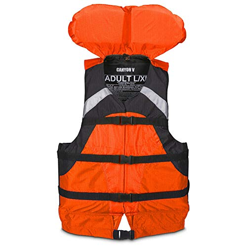 Review MRT SUPPLY Jackets Canyon V Padded Adult S/M Life Jacket Water Safety Vest, Orange with Ebook