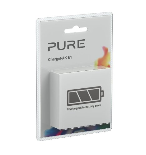 Pure ChargePAK E1 Rechargeable Replacement Battery Pack for Pure Evoke 1S, Evoke 1S Marshall, Evoke Flow, One Flow and Sensia Digital Radios