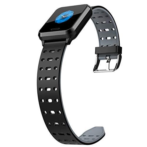 Reloj inteligente,CHshe,Smart Watch Android iOS Deportes Fitness Calorías Pulsera Wear Smart Watch, para Android 5.0 y superior, IOS 9.0 y superior y otros teléfonos móviles. (gris)