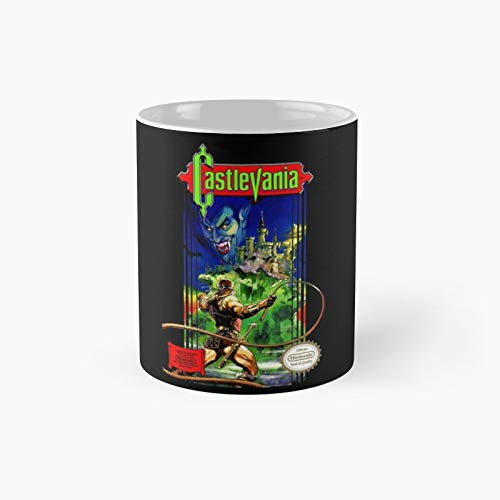 Classic Castlevania Nes Mug - 11 Ounce For Coffee, Tea, Chocolate Or Latte.