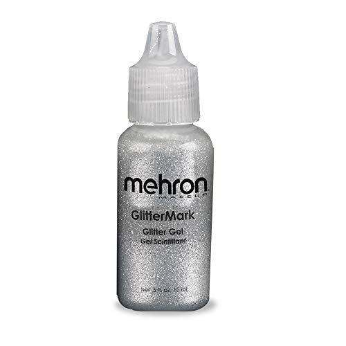 Mehron Inc. M2535ZA Glitter Mark Silver maquillage