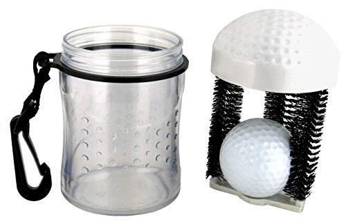 Nerabi Golfball Reiniger Golfball Washer Cleaner Golfer Zubehör Accessoire für Golfer klein praktisch und handlich