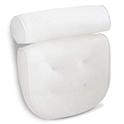 Viventive Luxury Spa Bath Pillow with Back Support