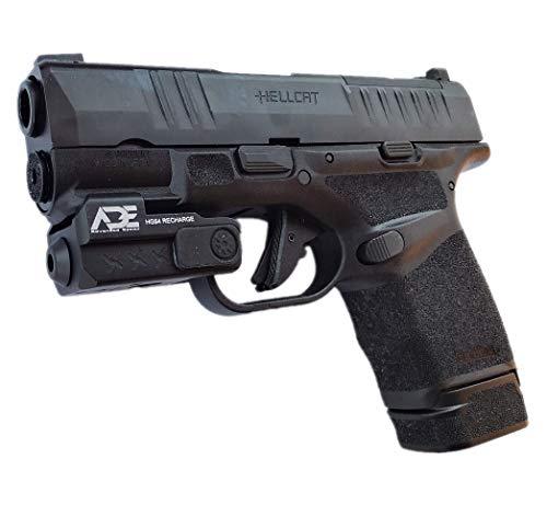 Ade Advanced Optics HG54G Rechargeable Universal Laser Sight, Green for Springfield Hellcat Micro-Compact 9MM Pistol Handgun