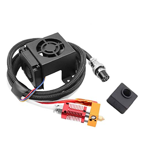 Canjerusof MK8 Extruder 3D Printer Extruders Kit Assembly Fully Equipped with Hotend for 3D Printer 12V