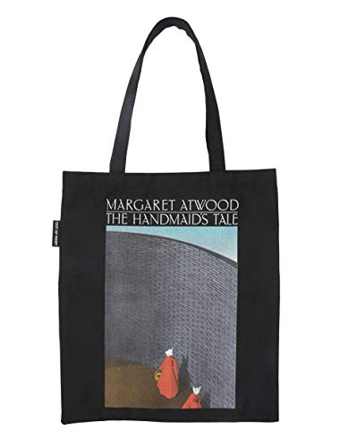 Bolsa de transporte de lona com tema literário e livro para amantes de livros, leitores e bibliófilos, Handmaid's Tale, Medium