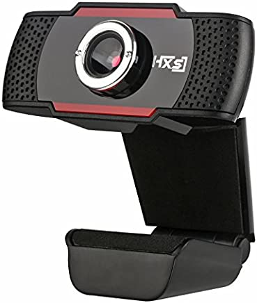 Rabusion HXSJ S20 Webcam HD 480P PC con Microfono di Assorbimento, Microfono per Skype per Android TV Computer Girevole USB Web Cam - Trova i prezzi più bassi