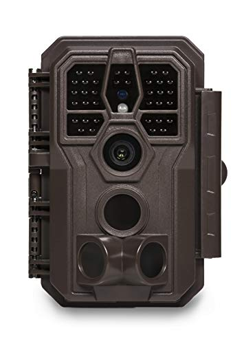 GardePro E5 Trail Camera 24MP 1296P Game Camera with Ultra Fast 0.1S Motion Activated 100ft Night Vision 90ft Detection Distance for Outdoor Wildlife Scouting Hunting, Brown
