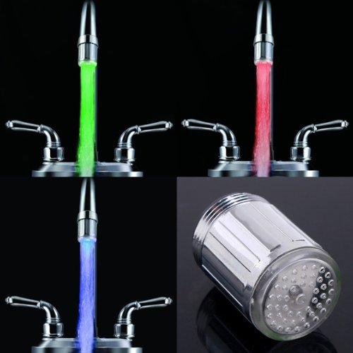 Grifo Galvanik Retro Retro 10x (5pcs 7 colores RGB LED automáticos Grifo de agua Grifo de TooGoo (R), Multi