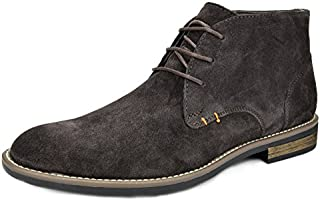Bruno Marc Men's URBAN-01 Suede Leather Lace Up Oxfords Desert Boots