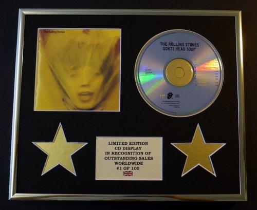 The Rolling Stones/CD Présentoir édition limitée/Cacao Tête de chèvre