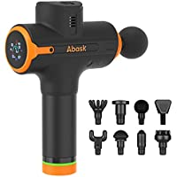 Abask Deep Tissue Percussion Muscle Massager Gun