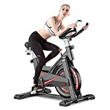 CANMALCHI (UK stock) Indoor Exercise Bike Spinning Bike For Home/Gym Use,Adjustable Workout Bike