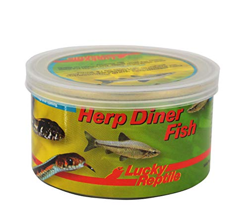 Lucky Reptile Herp Diner Fish 35 g, 2er Pack (2 x 35 g)
