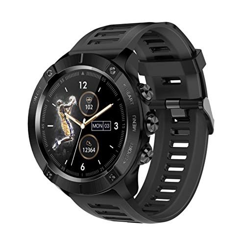 Smart Watch Sports Fitness Tracker Pulsera de la presión Arterial MC01 IP68 IP68 Ladies a Prueba de Agua Smartwatch,B
