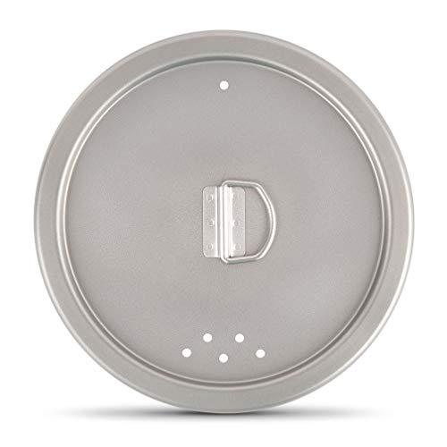 finessCity Tapa universal de titanio que se adapta a todas l