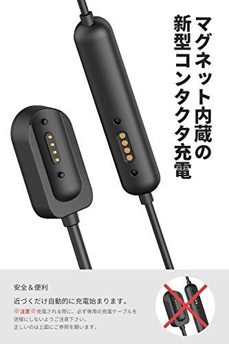 SOUNDPEATS(サウンドピーツ)Q35HDワイヤレスイヤホンIPX8防水マグネット式充電APTX-HDコーデック対応AACコーデック対応高音質・低遅延Bluetooth5.0スポーツイヤホン最大14時間再生超軽量マグネット内蔵ブルートゥースイヤホンコンタクタ式充電CVCノイズキャンセリング搭載Bluetoothイヤホン【メーカー1年保証】(Black)