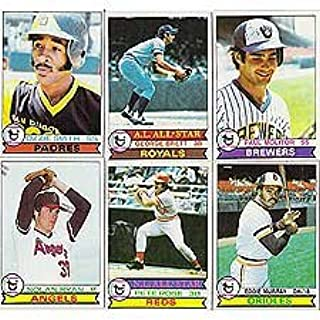 1979 Topps Baseball Complete Near Mint to Mint 726 Card Hand Collated Set Featuring Ozzie Smith's Rookie Card!! Loaded with Stars and Hall of Famers Including Nolan Ryan, Eddie Murray, Paul Molitor, Pete Rose, Johnny Bench, Tom Seaver, Mike Schmidt, George Brett, Steve Carlton, Robin Yount, Thurman Munson, Jim Palmer, Ty Cobb, Hank Aaron and Many Others!