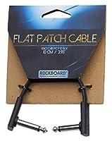 WARWICK エフェクト・ボード用パッチ・ケーブル RockBoard Flat Patch Cable Black 10cm