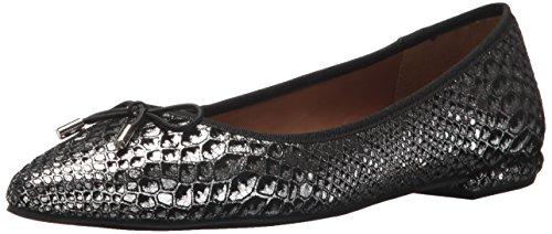French Sole FS/NY Women's Anaconda Shoe, Black, 9.5 Medium US