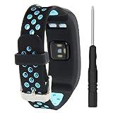 T-BLUER Compatible for Garmin Vivosmart HR Correa,Accesorio de Pulsera de reemplazo de Silicona Transpirable Compatible con Garmin Vivosmart HR