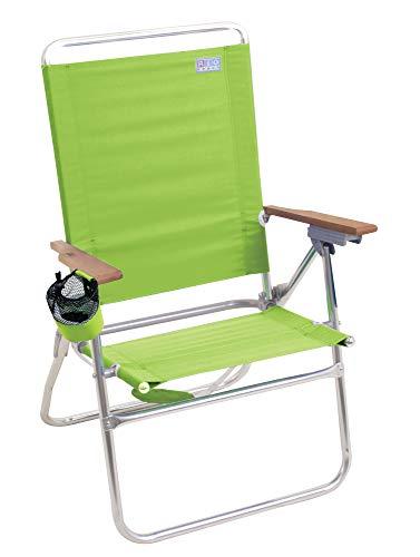 Rio Beach Hi-Boy High Seat 17' Folding Beach Chair - Stripe