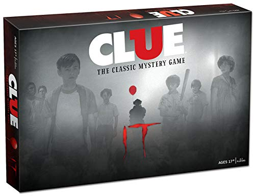 USAopoly Clue Stephen King's IT Movie Edition Board Game