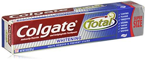 Colgate Total Whitening Zahnpasta - 7,8 Unzen (1 Stück), 221 g