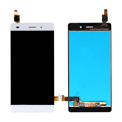 un known Reemplazo Compatible Mobile Display LCD for Huawei Ascend P8 Lite Screen Display LCD táctil Asamblea for Huawei P8 Lite (Color : White, Size : 5.0')