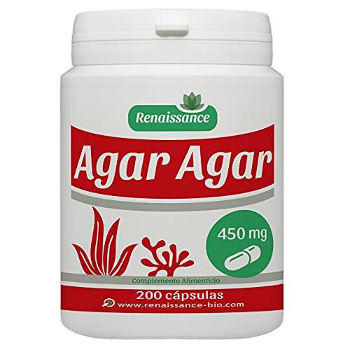 Agar Agar - 450 mg- 200 gélules