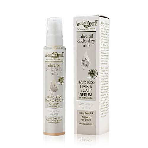 Aphrodite Haarausfall & Kopfhaut Serum. Serum für Stärkung und Volumen
