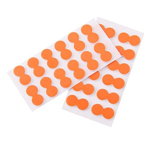 Homyl 24er Set Selbstklebende Schaumstoff Anzeiger Fliegenfischen Sticker Strike Indicator
