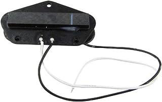 Musiclily 52mm Tele Bridge Bobina Simple Pastilla del Puente para Guitarra Telecaster, Negro