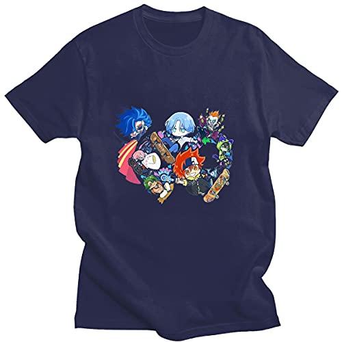 Summer Women Anime T-Shirt,S-K8 The Infi-nity Skateboard T-Shirt Hip Hop Mens Short Sleeve Print Tshirts Kawaii Clothes Korean Fashion 2044Unisex T-Shirt