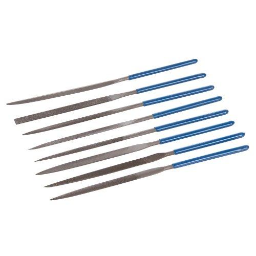 Silverline MS100 Needle File Set, 140 mm - 10 Pieces