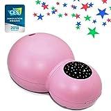 ZAQ Sky Aroma Aceite Esencial Kids Difusor Ultrasónico LiteMist Humidificador Aromaterapia Humidificador - 120 ml - Luz Noche Cálida