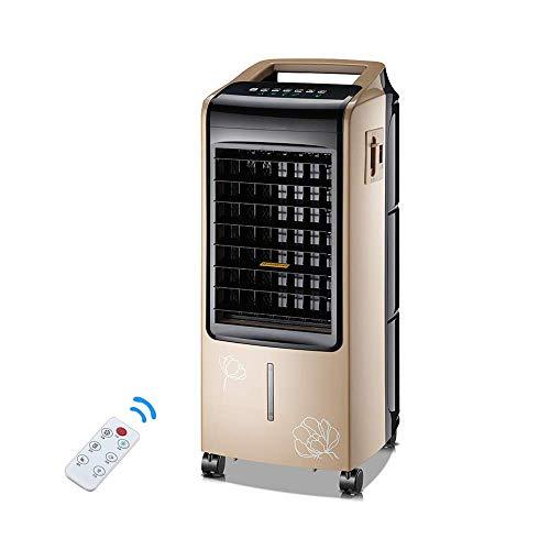 QTCD Fans Refrigerador silencioso de Doble Uso con refrigeración por Agua y Aire Acondicionado pequeño para el hogar -80W