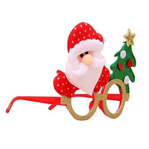ZYYXB Gafas de Navidad con diseo de oso de Snata y alce, regalo de regalo para fiestas