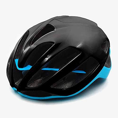Rode Fietshelm Dames Heren Fietshelm MTB Bike Mountain Road Fietsen Veiligheid Buitensporten Grote Helm, M, L 59-62cm