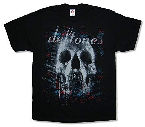 LTR Deftones Skull Black T Shirt New Band Merch
