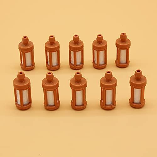 SYCEZHIJIA Kit de Filtro de Combustible de 10 unids/Lote para STIHL MS210 230, 250, 260, 290, 310, 381, 390, 440, 441, Herramientas de Repuesto para Motosierra de jardín, Piezas de Gas