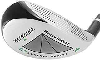 Boccieri Golf- Heavy Hybrid 23 Degree Stiff Flex Black